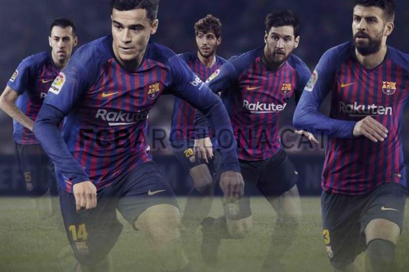 Nueva equipación FC Barcelona