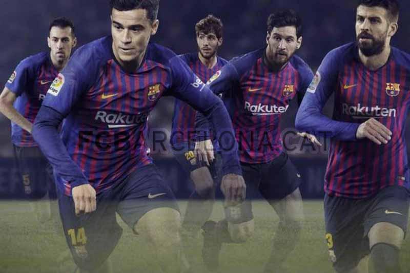 Nueva equipación FCBarcelona